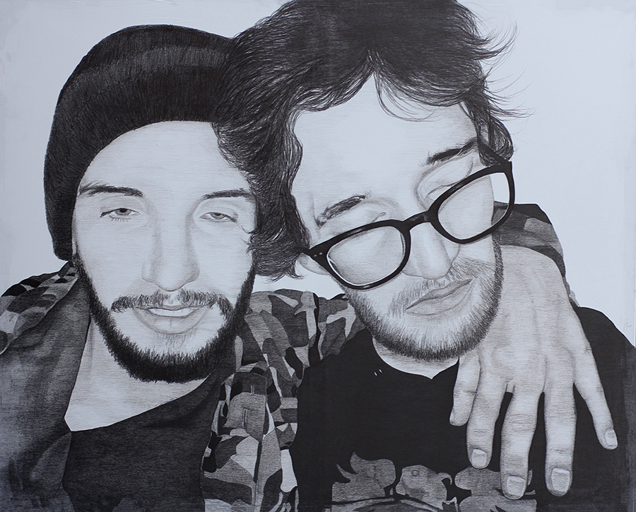2014 | Elias & Sperka | Pencil on canvas | 130x110 cm
